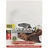 Muscletech, Mission1 Baked Protein Bar, Chocolate Brownie, 12 Bars, 2.12 oz (60 g) Each
