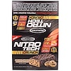 Muscletech, Nitro Tech Crunch Bars, Chocolate Chip Cookie Dough, 12 Bars, 2.29 oz (65 g) Each