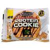 Muscletech, ベストソフト・ベークドプロテインクッキー、ピーナッツバターチップ、クッキー6枚、各3.25 oz (92 g)