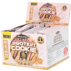 Мусклетек, The Best Soft Baked Protein Cookie, Peanut Butter Chip, 6 Cookies, 3.25 oz (92 g) Each отзывы покупателей