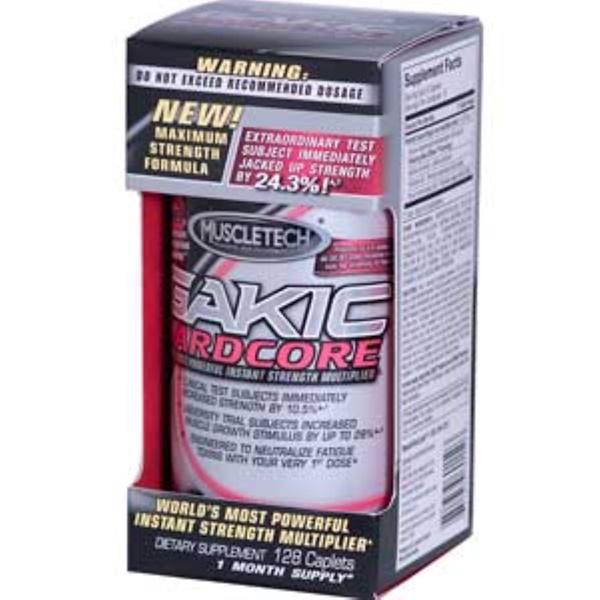 Muscletech, Gakic Hardcore, Maximum Strength Formula, 128 Caplets (Discontinued Item)