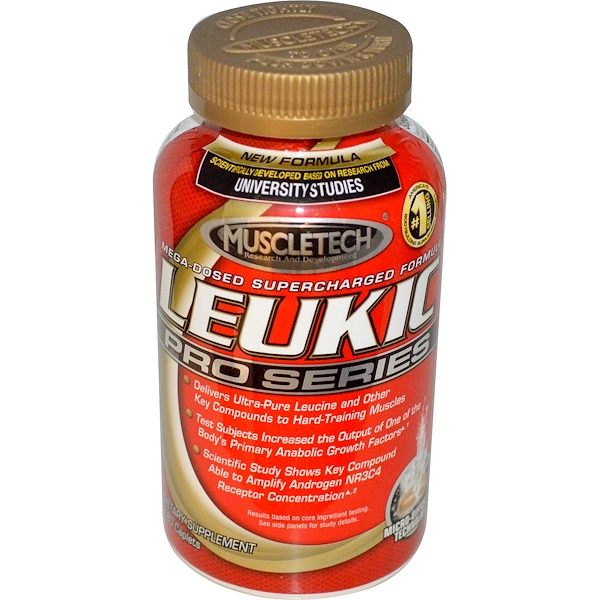 Muscletech, Leukic Pro Series, 180 Caplets (Discontinued Item)