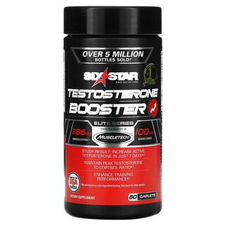 Six Star, Elite Series, Testosterone Booster, 60 Caplets