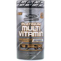 Essential Series, платинум мультивитамин, 90 таблеток - фото