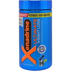 Muscletech, Xenadrine Ultimate Weight Loss, 120 Capsules