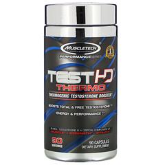 Muscletech, 性能系列,Test HD Thermo,生熱睾酮促進劑,90 粒膠囊