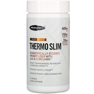Muscletech, Peak Series, Thermo Slim, 90 Capsules