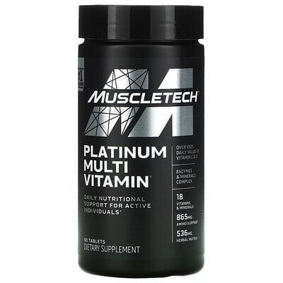 Купить Muscletech Platinum Multi Vitamin, 90 Tablets