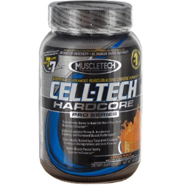 Muscletech, Cell-Tech, Hardcore Pro Series, Orange, 4.4 lbs (2 kg) (Discontinued Item)