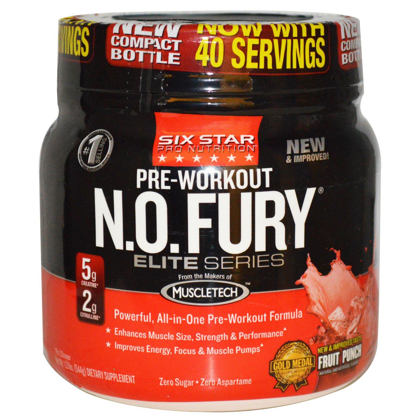 Six Star Pro Nutrition, N.O. Fury