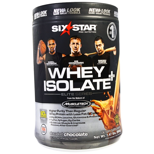 Six star whey protein isolate review