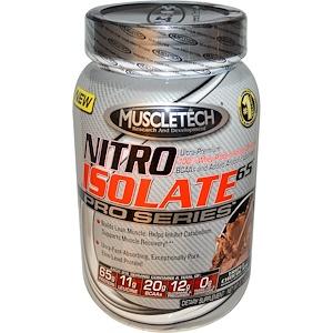 Мусклетек, Nitro Isolate 65 Pro Series, Triple Chocolate, 2.1 lbs (932 g) отзывы