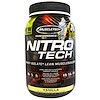Muscletech, Nitro Tech, Whey Isolate + Lean MuscleBuilder, Vanilla, 2.00 lbs (907 g)