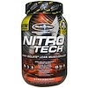 Muscletech, Nitro-Tech, Performance Series, Whey Isolate+ Lean Musclebuilder, Strawberry, 2 lbs (907 g)