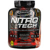 Muscletech, Nitro Tech, Whey Isolate + Lean Muscle, Strawberry, 4.00 lbs (1.81 kg)