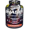 Muscletech, Performance Series, Phase8, Multi-Phase 8-Hour Protein, الفراولة, 4.60 باوند (2.09 كغ)