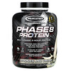 Muscletech, Performance Series, Phase8, Multi-Phase 8-Hour Protein, Cookies and Cream, 4.59 lbs (2.08 kg)