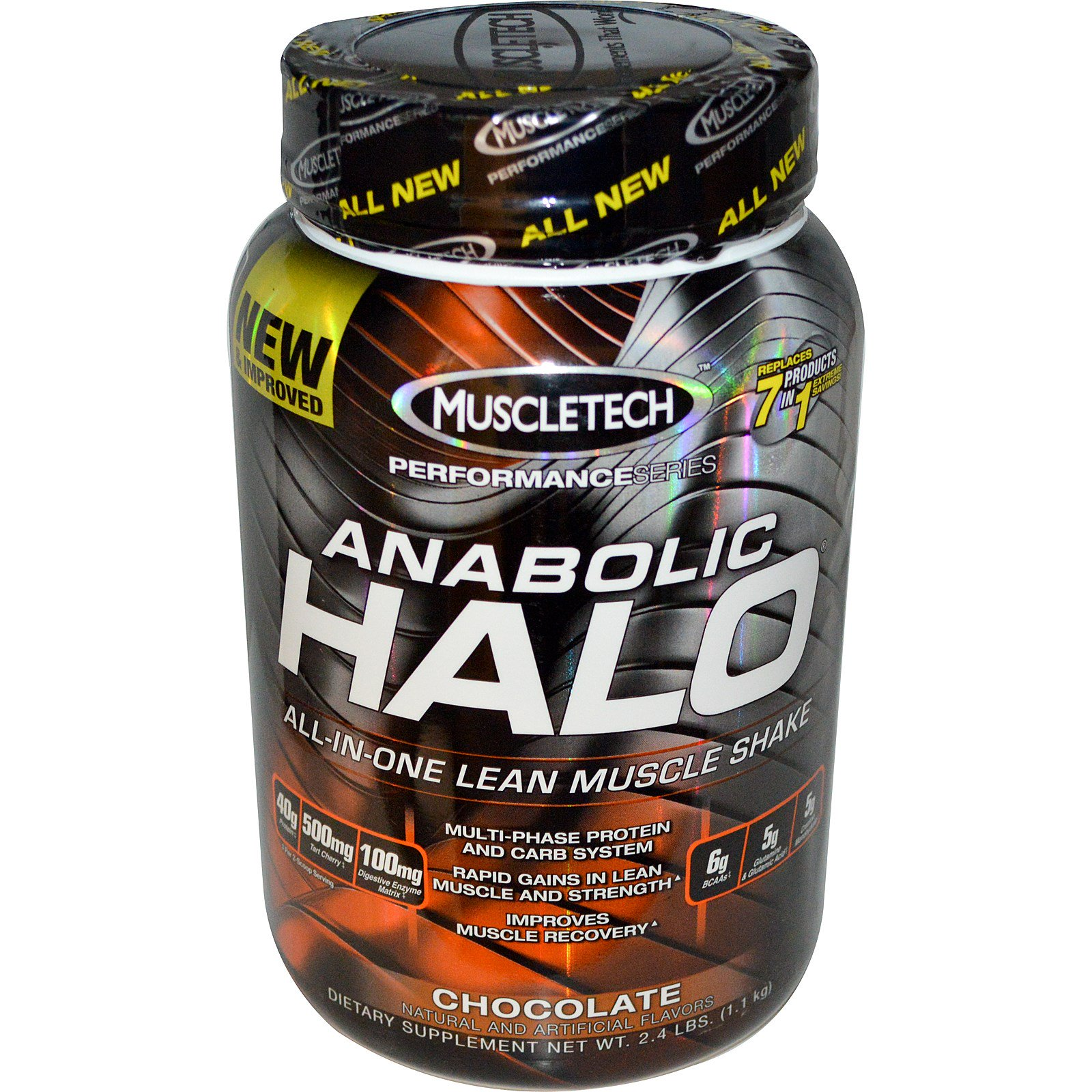 Halo workout supplement