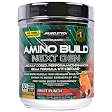 Отзывы о Muscletech, Amino Build Next Gen BCAA Formula With Betaine, Fruit Punch, 9.83 oz (279 g)