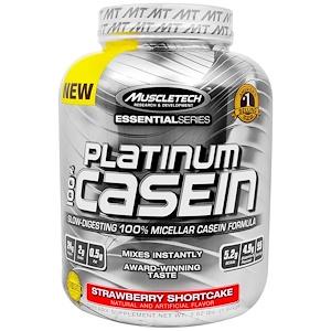 Мусклетек, Platinum 100% Casein, Strawberry Shortcake, 3.62 lbs (1.64 kg) отзывы покупателей