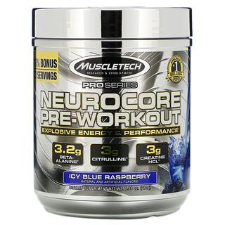 Muscletech, Pro Series, Neurocore Pre-Workout, Icy Blue Raspberry, 7.39 oz (210 g)