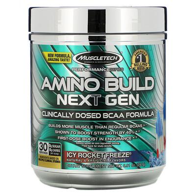 Фото - Amino Build нового поколения, ледяная свежесть, 276г (9,73унции) amino build next gen аминокислоты нового поколения для повышения энергии фруктовый пунш 284г 10 03унции