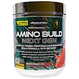 Отзывы о Muscletech, Amino Build Next Gen BCAA Formula With Betaine, Watermelon, 9.74 oz (276 g)
