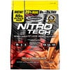Muscletech, Nitro Tech, Whey Peptides & Isolate Lean Musclebuilder Whey Protein Powder, Milk Chocolate, 10 lbs (4.54 kg)