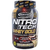 Nitro Tech, 100% Whey Gold, печенье со сливками, 2,20 фунта (999 г) - фото