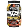 Muscletech, Nitro Tech, 100% Whey Gold, Fresa, 2.20 lb (999 g)