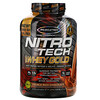 Muscletech, Nitro Tech, 100% Whey Gold, Whey Protein Powder, Double Rich Chocolate, 5.53 lbs (2.51 kg)
