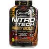 Muscletech, Nitro Tech, 100% 유청 골드, 유청 단백질 분말, 더블 리치 초콜릿, 2.51kg(5.54lbs)
