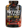 Muscletech, Nitro Tech 100% Whey Gold، فراولة، 5.53 رطل (2.51 كجم)