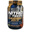 Muscletech, Nitro Tech Casein Gold, Chocolate Supreme, 2.53 lbs (1.15 kg)