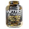 Muscletech, ニトロ・テック, ホエイ・プラス・アイソレート・ゴールド, バニラビーン, 4lb(1.81kg)