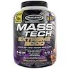 Muscletech, Mass Tech Extreme 2000,三重巧克力蛋糕,7.00磅(3.18千克)
