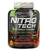 Muscletech, Nitro Tech、天然香料ホエイペプチド&アイソレートプライマリーソース、ミルクチョコレート、1.82kg