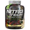 Muscletech, Nitro Tech、天然風味、ホエイペプチド&アイソレートプライマリーソース、バニラ、1.82kg