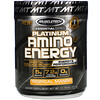 Muscletech, Platinum Amino Plus Energy, Tropical Mango, 11.19 oz (317 g)