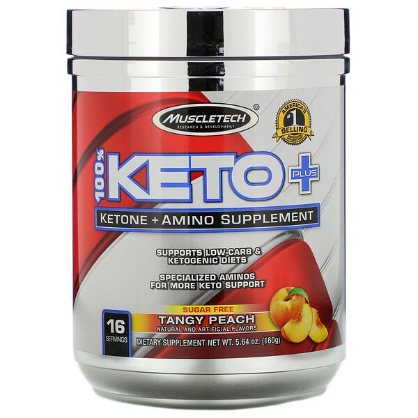 Muscletech, Cetoamino, Melocotón ácido, 5,64oz (160g) (Discontinued Item)
