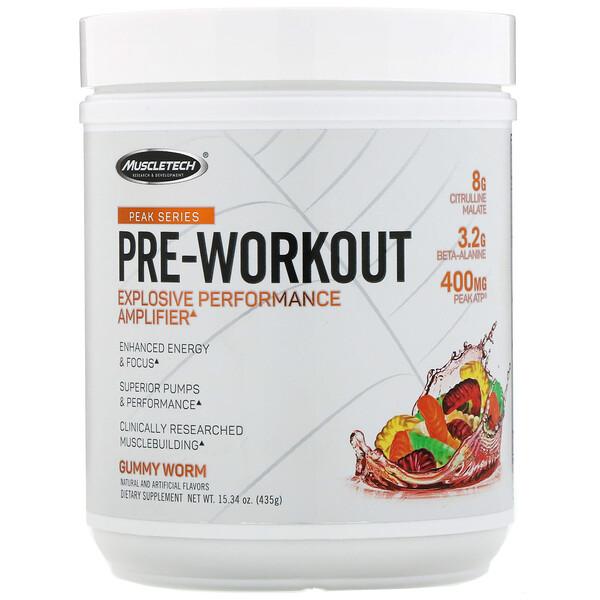 Peak Series, Pre-Workout, Gummy Worm, 15.34 oz (435 g)