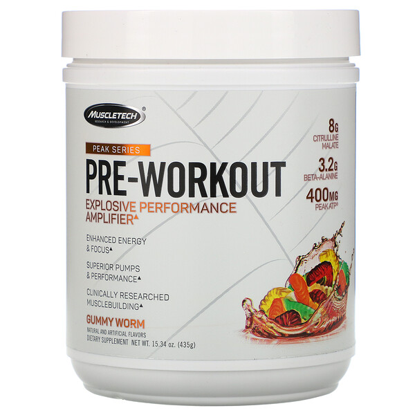 Peak Series, Pre-Workout, Gummy Worm, 15.34 oz (435 g)