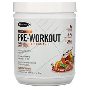 Мусклетек, Peak Series, Pre-Workout, Gummy Worm, 15.34 oz (435 g) отзывы покупателей