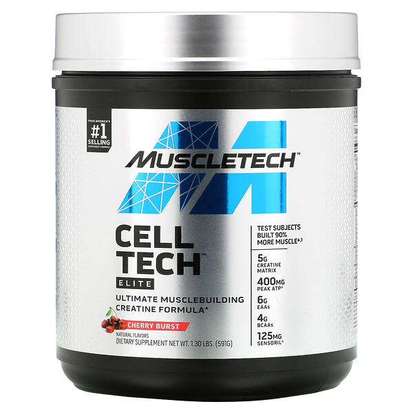 Cell Tech, Elite, Cherry Burst,  1.3 lbs, (591 g)