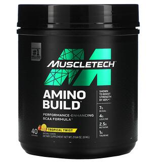 Muscletech, Amino Build, Tropical Twist, 21.64 oz (614 g)