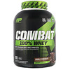 MusclePharm, Combat, 100 % proteína de suero, chocolate doble, 5 lb (2269 g)