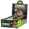MusclePharm, Combat Crunch Protein Bars, Double Stuffed Cookie Dough, 12 Bars, 2.22 oz (63 g) Each