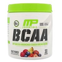 BCAA Essentials,  Фруктовый пунш, 0,57 фунта (258 г) - фото