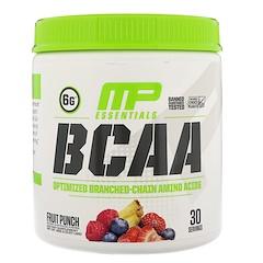 MusclePharm, BCAA Essentials,  Фруктовый пунш, 0,57 фунта (258 г)