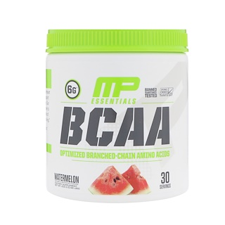 MusclePharm, BCAA Essentials, Watermelon, 0.48 lbs (216 g)